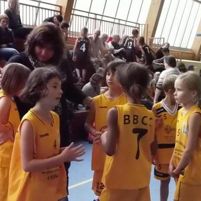 Les Poussines avec leur coach Stéphanie HOCHARD