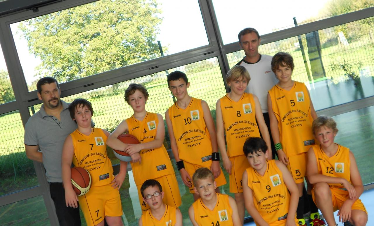 L'équipe Benjamins - juin 2012