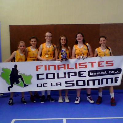 Les Minimes filles du B.B.C.C. en finale de la Coupe de la Somme !!!