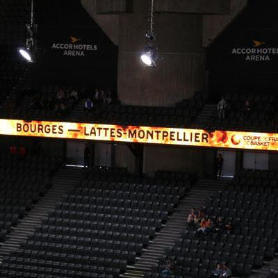 1er match, Bourges vs. Lattes-Montpellier