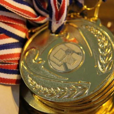 Les médailles...