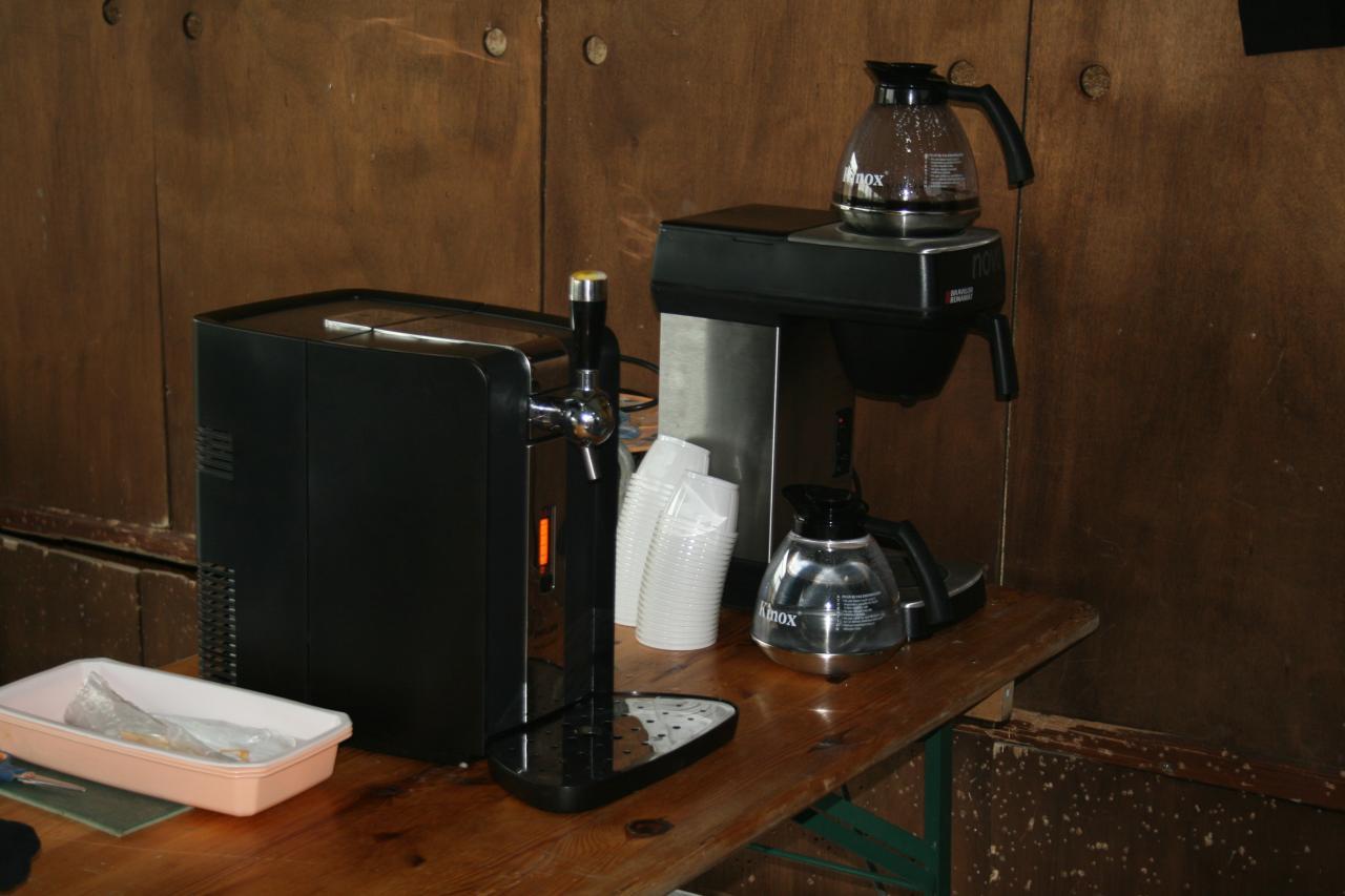 Bière et café, l'essentiel est assuré !