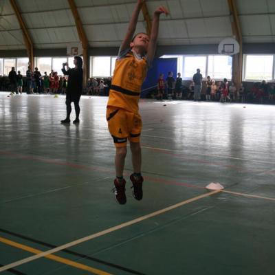 Jump-shoot pour Alexandre (Mini-Poussin).