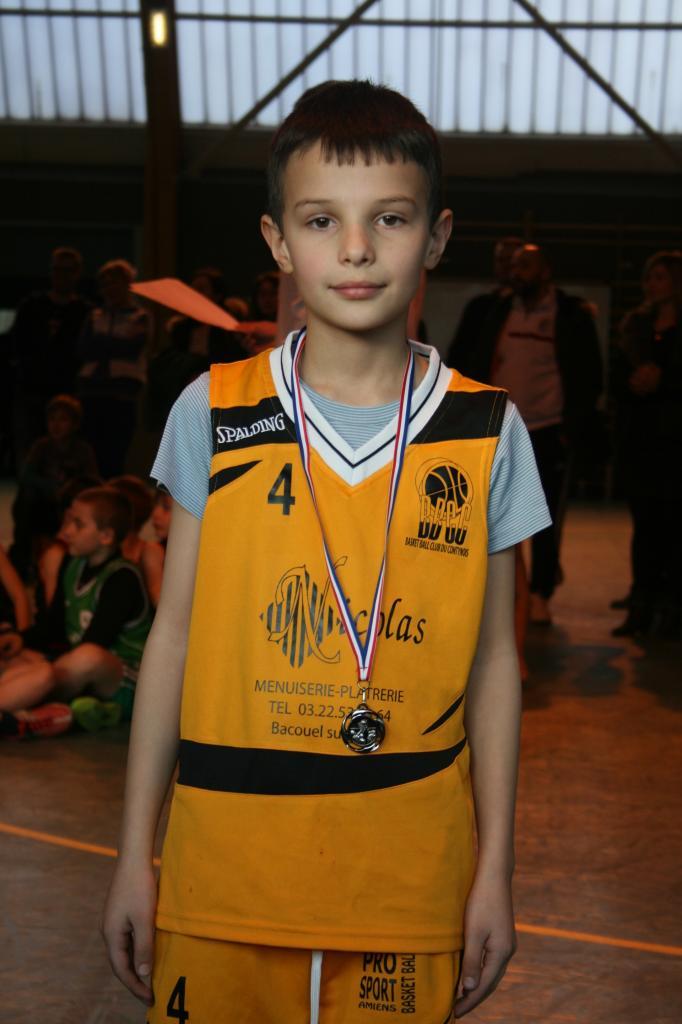 Alexandre (Mini-Poussin) peut être fier de sa performance !