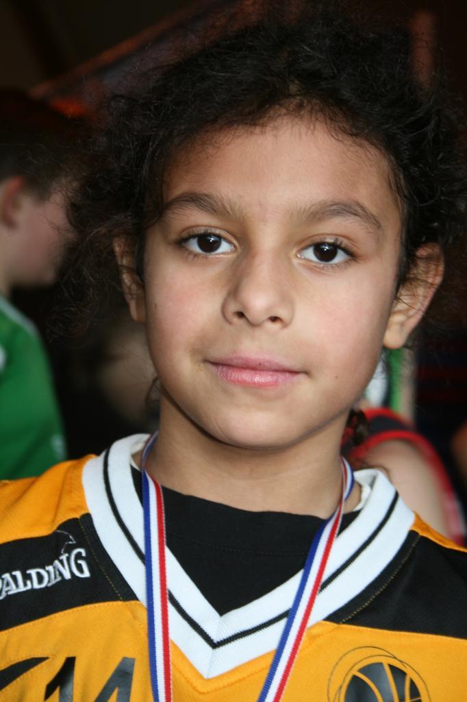 Aristide, le troisième Mini-Poussin a avoir remporté une médaille.