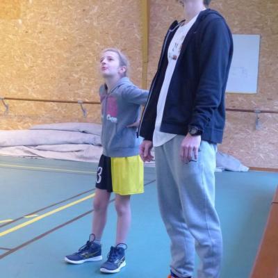 Coach Adèle et son assistant Antoine...