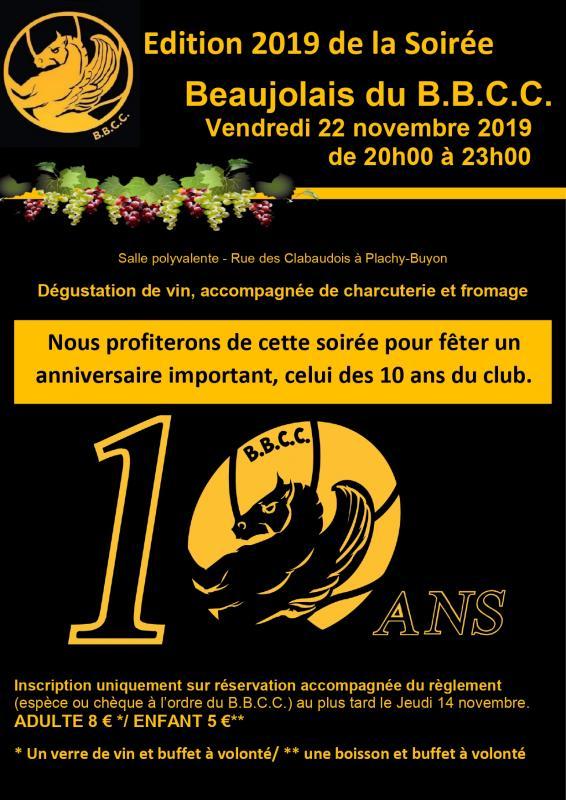 Beaujolais 2019 affiche