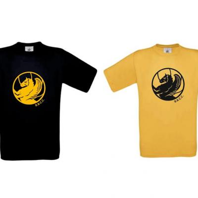 Tee-shirt B.B.C.C. / Black & Gold