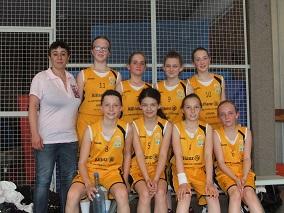 Equipe Benjamines, saison 2012-2013